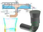 af-float-flotation-unit-and-geometric-model-of-the-dispersion-water-chamber-used-in-cfd-simulations