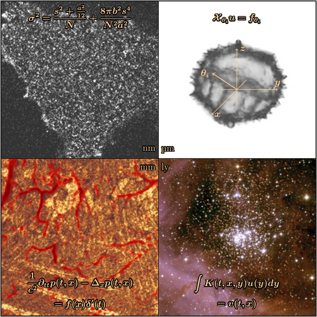 SFB Tomography Across the Scales: Quantitative Optical Imaging from Single Molecules to Stars